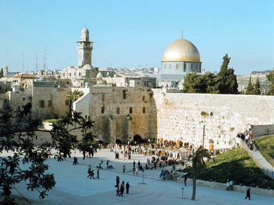 Israel: Temple Mount Jerusalem