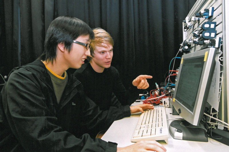University lab, Japan