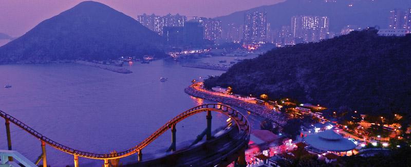 Bustling Hong Kong